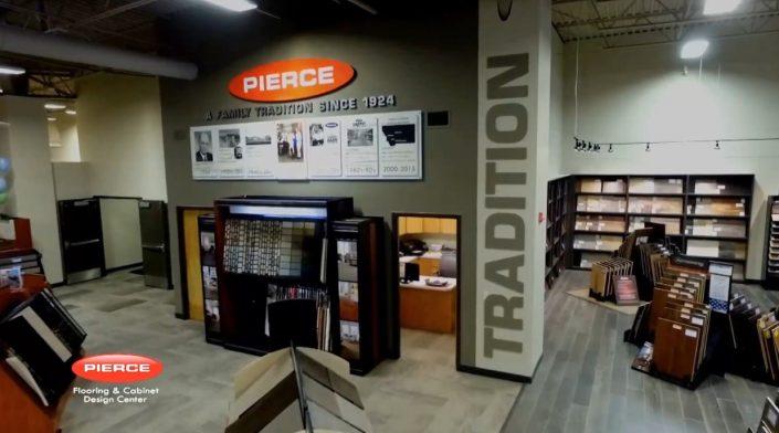 Pierce showroom
